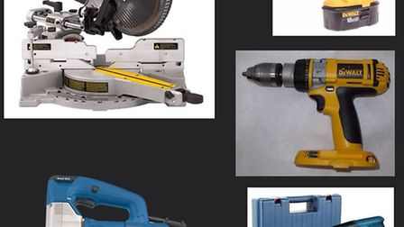 Tools similar to this stolen from Andrew Stockbridge