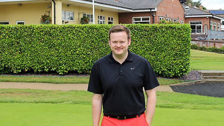 Snooker star Shaun Murphy enjoyed a visit to Ely City Golf Club earlier this week.