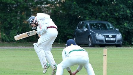 Cambs v Bucks county cricket. Picture: Steve Williams.