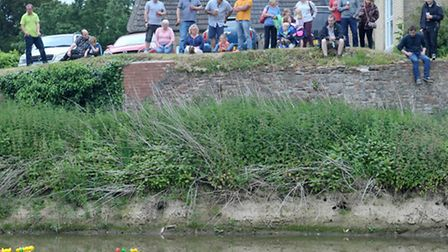 Mepal and Witcham Duck race. Picture: Steve Williams.