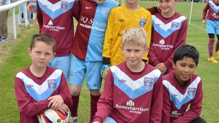 Ely City FC Junior 6-a-side Tournament, Ely Crusaders Whites U10s,