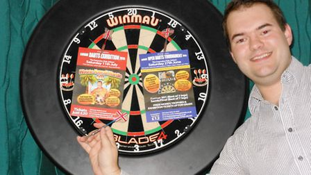 Peter Cousins is hosting two darts events in Soham.