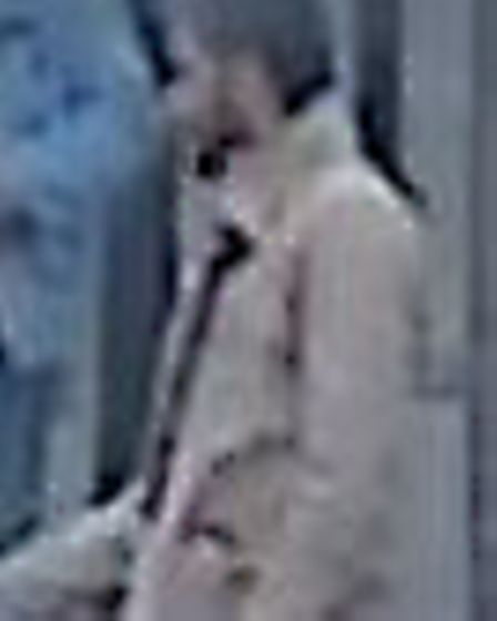 CCTV images to two men police wish to speak to.