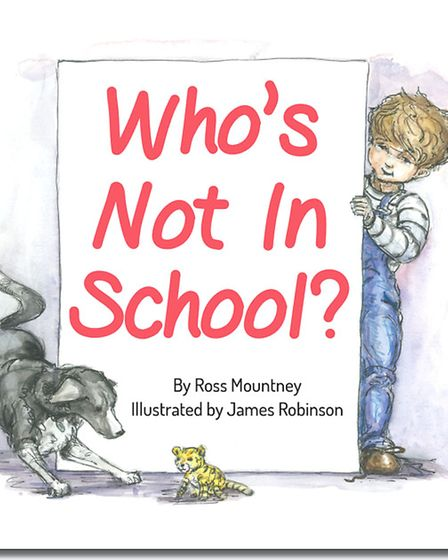 Who's Not in School , Book cover.