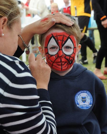 Charity Fun Day for Effie Hadman at Whittlesey Athletic Football Club. Picture: ROB MORRIS