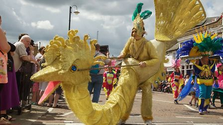Scenes from the parade at Chatteris Midsummer Festival. Picture: BARRY GIDDINGS