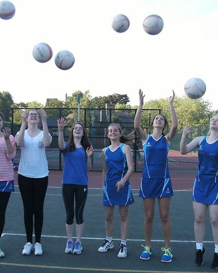 Under-16 Ely players ready to step up to join the adult netball club