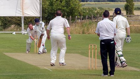 Chatteris vs March II cricket. Picture: BARRY GIDDINGS