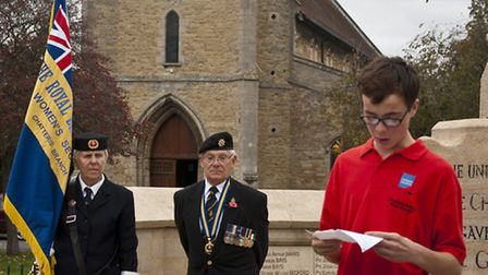 YOPEY nominees pay their respects.