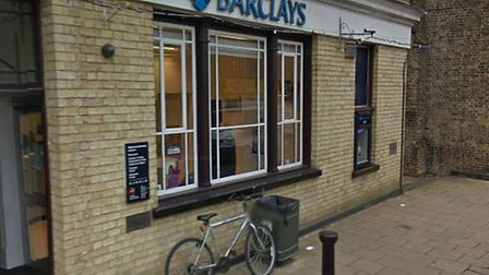 Barclays bank, in Main Street, Littleport.Picture: GOOGLE.