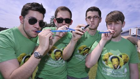 Alex Harrison, Anthony Bottazzi, Martin Skerrrett and Tom Evans, from Chatteris, at last year's even