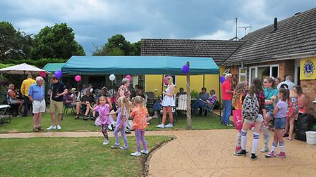 The March Lions Club barbecue raised 615 for the National Autistic Society.