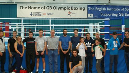 March ABC boxers and coaches worked with the Great Britain boxing squad at the English Institute of