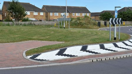 Chatteris Tesco roundabout and underpass. Picture: Steve Williams.