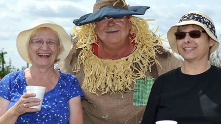 Allotment open day, Chatteris. Picture: Steve Williams.