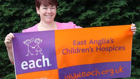 Lorna Hazeltine will take on the 100km Thames Pathway Challenge in aid of East Anglia's Children's H