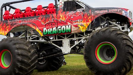 Red Dragon will provide passenger rides at the event.