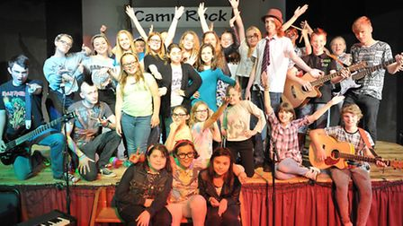Cromwell College Chatteris, School production Camp Rock. Picture: Steve Williams.