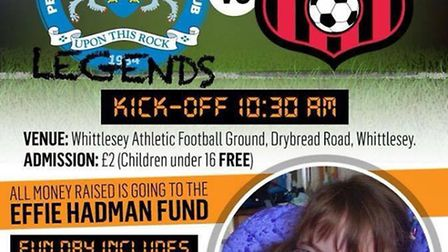 Charity fun day to raise money for Whittlesey girl Effie Hadman
