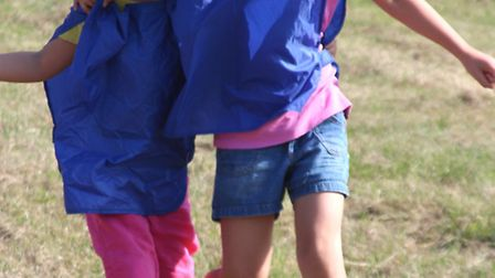 Girl Guiding It's A Knockout event