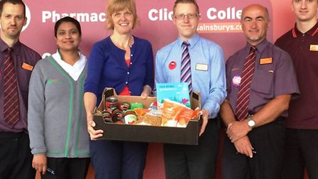 Ely Sainsbury's announce new charity