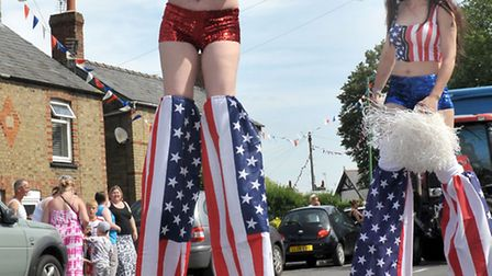 Doddington Carnival 2015 took place with an American Entertainment theme. Picture: Steve Williams.