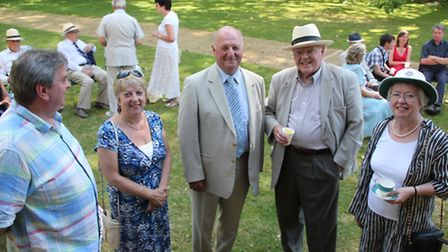 Retirement party for Sir Jim Paice (PHOTO: Mike Rouse)