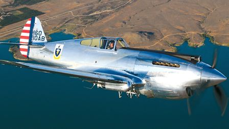 A Curtiss P-40C will also form part of the Duxford Flying Legends show.