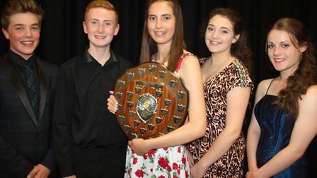 Soham Young Musicians: Olly Manley, Dominic WIlls, Kayleigh Harrison, Zara Minns and Rebecca Revie.