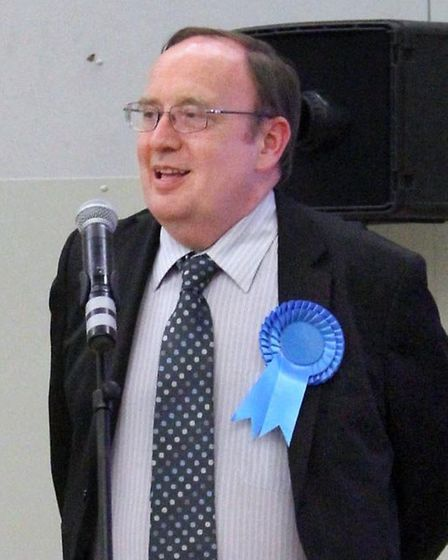 Chris Boden has won seats on Fenland District Council and Cambridgeshire County Council.