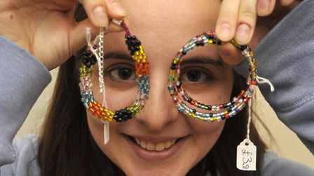 Nicole Clark, from Stretham, sold bracelets at the craft fair in November last year.