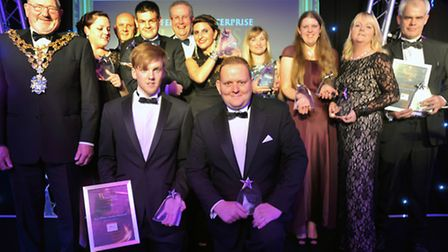 The winners at the 2014 Fenland Enterprise Business Awards.