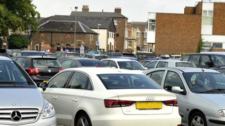 The rest of Somers Road car park, Wisbech