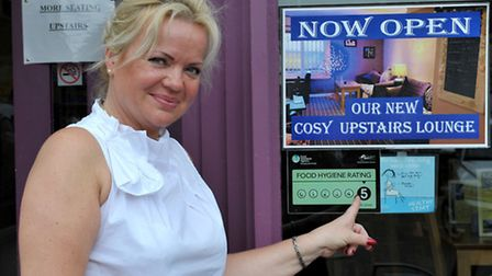 Inguna Smyde owner of Loafers, Wisbech. Picture: Steve Williams.