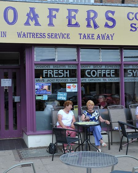 Loafers, in Wisbech, has a five star rating.