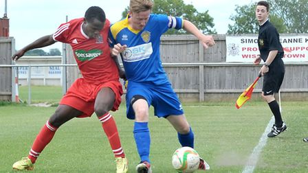 Wisbech football v Spalding. Picture: Steve Williams.