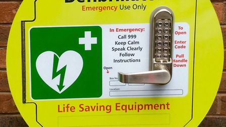 Local representatives have come together to bring a 24/7 defibrillator to Wisbech.