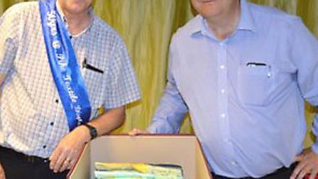 Wisbech-based Pike Textiles gave a big send-off to Dave Warby from March when he retired after a rem