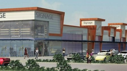 Proposed Westry Retail Park, March