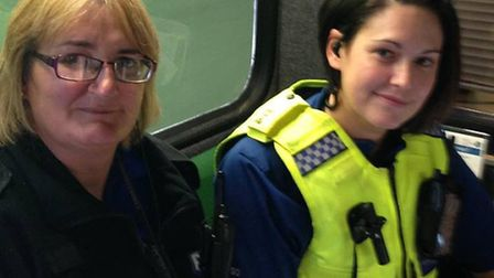 Two PCSOs attended the March Sports Festival.