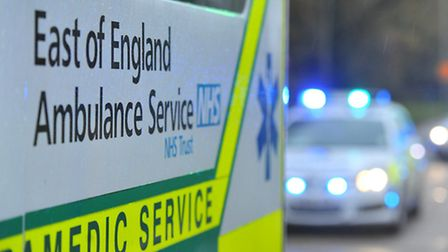 Emergency services attended serious accident on M11 today