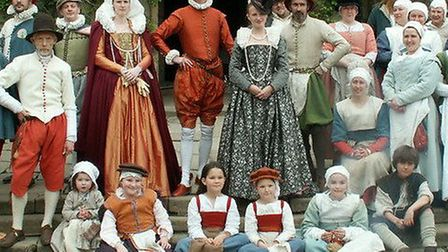 Come and meet the Tudors at Denny Abbey this bank holiday weekend!