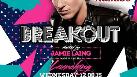 Jamie Laing to host new under 18's experience, Breakout