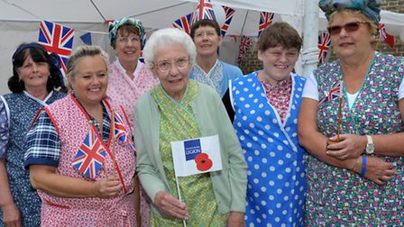 The RBL Women's Section held a special street party to commemorate the 70th anniversary of VJ Day.
