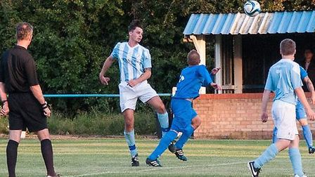 Action from Chatteris Town v Outwell Swifts. Picture: Chatteris Town Facebook