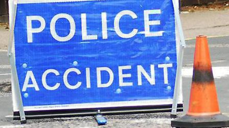 otoring delays in Wisbech after a four car collision