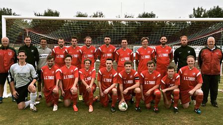 The Ely City squad for the 2015/16 season.