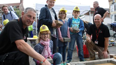 CWA lecturers and students get involved with Wisbech High Street project