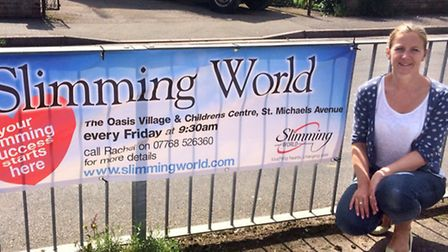 Rachel Bingham has opened a Slimming World group at the Oasis Centre.