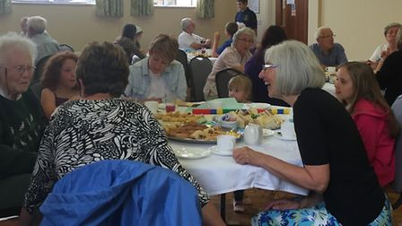 Fenland young creatives (Twenty20) - Afternoon tea for the evacuees.